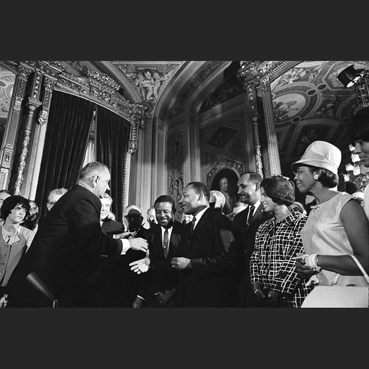 A piece of history: Today is the 52nd anniversary of #LBJ signing #VotingRightsAct. #MartinLutherKingJr attendees the historical signing. Now #Trump admin trying to dismantle #votingrights. Don't forget this past election was the very first one after the #supremecourt gutted the #VRA. The #trumpadministration is now attacking voting rights. This past year Texas has closed down over 400 voting polls (the most of any state). In fact #JeffSessions pussygrabber Donald Trumps p AG called the…