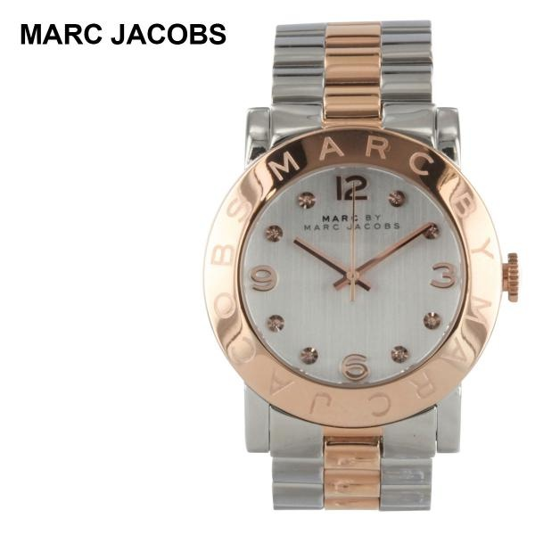 Marc by Marc Jacobs Two Tone Amy Rose Gold Ladies Watch