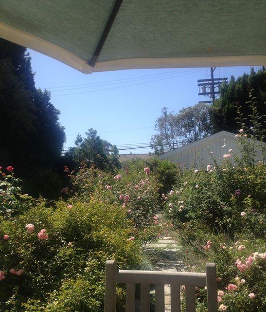 Rachel ashwell s garden rachel ashwell at home shabby for Rachel ashwell house