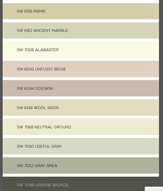 Sherwin Williams Color Favorites: 17 Best Images About Sherwin-Williams Alabaster On Pinterest