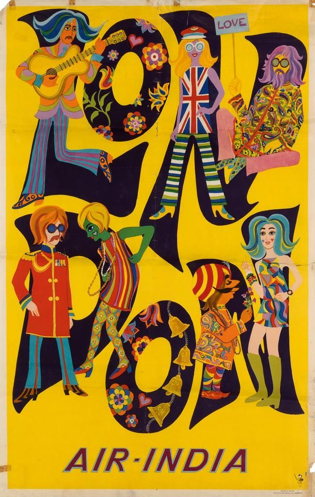 This 1968 'London' Air India poster is a bit crazy... http://catalogue.swanngalleries.com/asp/fullCatalogue.asp?salelot=2382+++++223+&refno=++695589&saletype=…