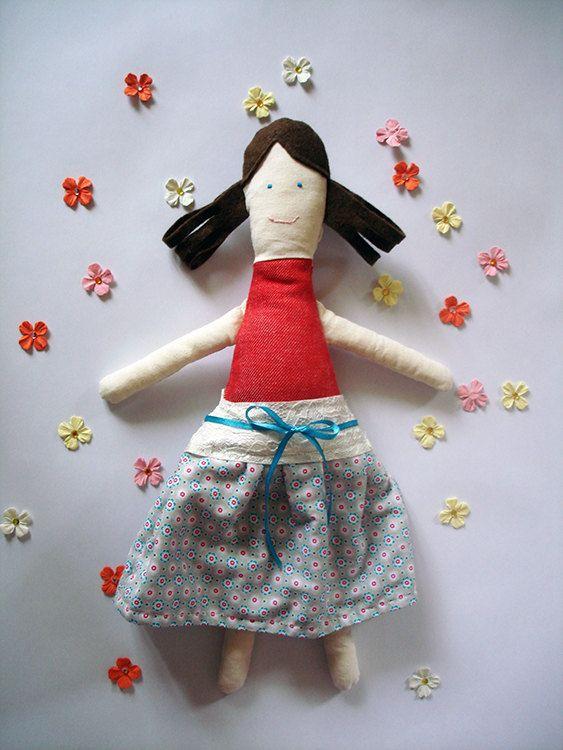 #sweet #girl #plustoy, #softy #doll, #little girl