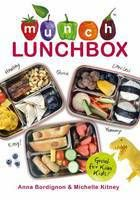 Munch Lunchbox Cookbook reviewed by Kathy Watson at Booksellers...