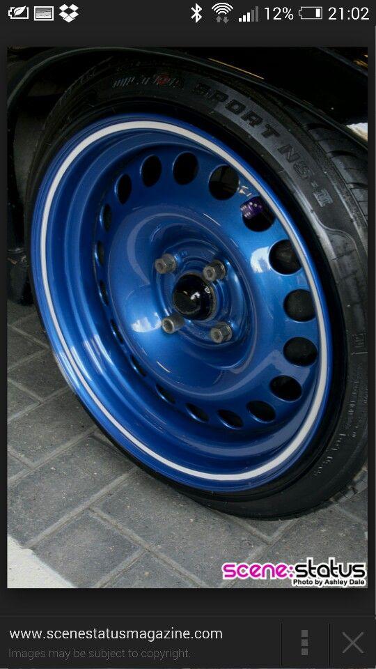 Banded Steel Mi Toyota Pinterest Steel Steel Wheels