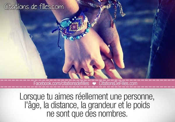 Citations de filles | Citations d'amour, d'amitié et autres » Que ...