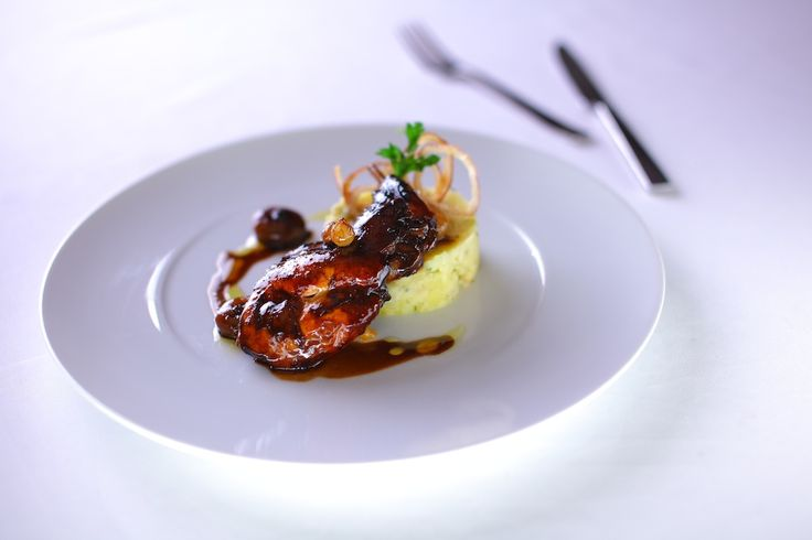 Check out our recipe of the week ! Braised rabbit in Aceto Balsamico by our Executive Chef Richard.