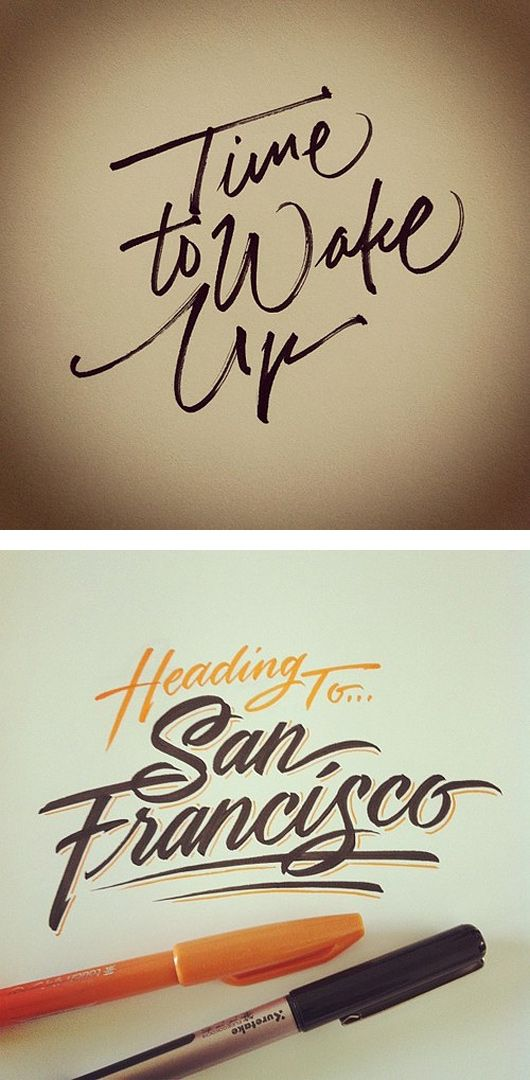 Beautiful Lettering by Matthew Tapia | Inspiration Grid | Design Inspiration