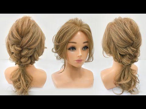 3款夏日必備長髮造型 Easy summer hairstyle for medium long hair - YouTube