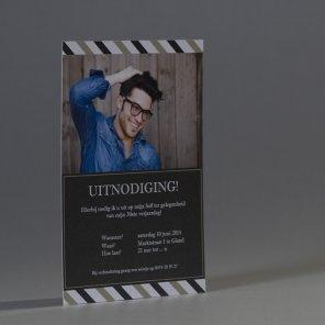Trendy fotokaart grijs bruin | Tadaaz