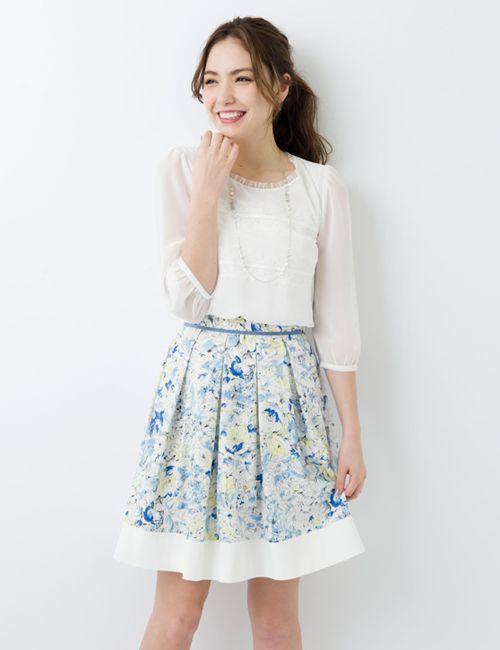 L'EST ROSE Skirt(6ee313)