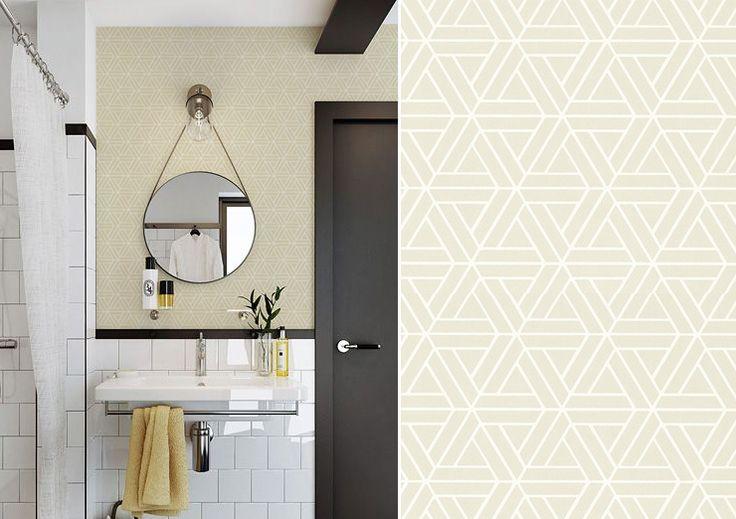 Papier peint medina thibaut design