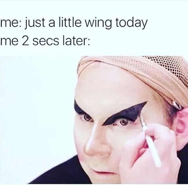 """It's so easy to go from """"normal every day look"""" to """"totally off the rails."""""""