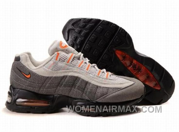 online store da2b3 114cb Buy Nike Air Max 95 Mens Trainers White Grey Black Orange Cheap To Buy from  Reliable ...