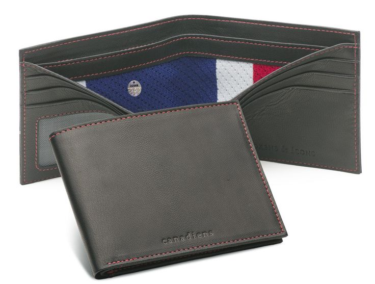 Montreal Canadiens Game Used Uniform Wallet