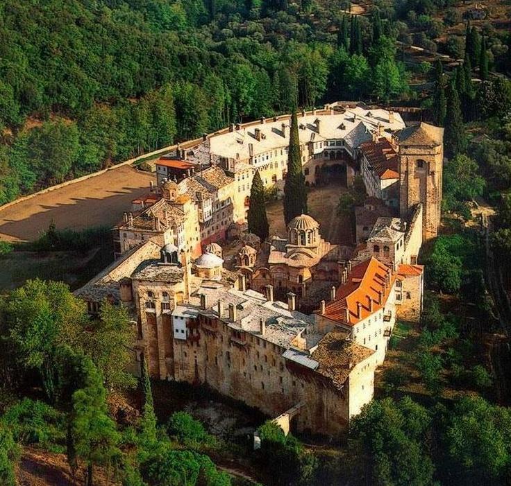 Serbian Orthodox monastery Hilandar | Mount Athos, Greece - SkyscraperCity