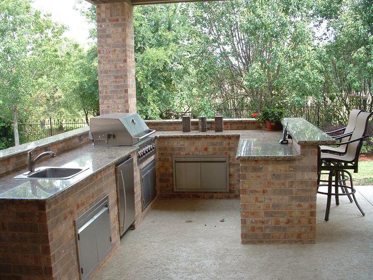 Best 25+ Outdoor kitchen sink ideas on Pinterest Outdoor grill - outside kitchen ideas