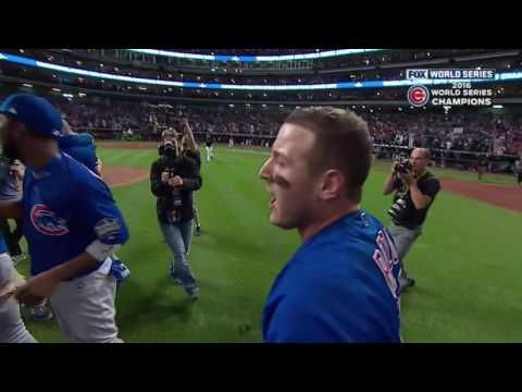 Lester from Bellarmine HS in Tacoma, WA:  Chicago Cubs Win World Series! Complete Bottom 10th and reaction