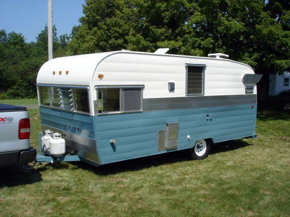 Sold 1964 Shasta Model Twenty Restored Recreational Vehicles