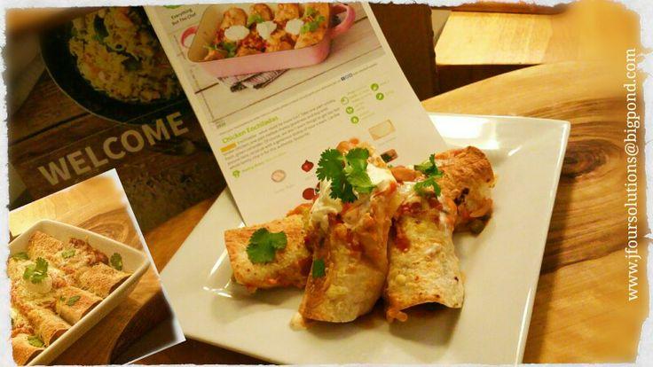 Chicken enchiladas #HelloFreshAU