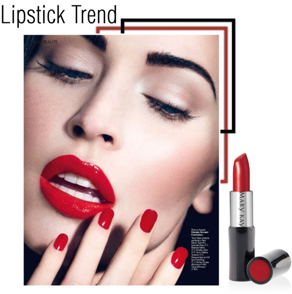 """""""Llipstick trend : : Rouge"""" by andyc-g on Polyvore"""