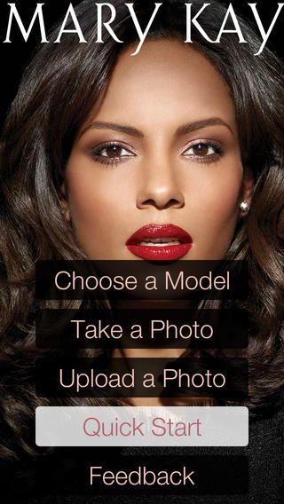 Mary Kay Mobile Virtual Makeover App. Its the first Mary Kay Mobile Virtual Makeover App! Customize looks with endless combinations of eye makeup, lip colors, hairstyles, hair colors, accessories and more