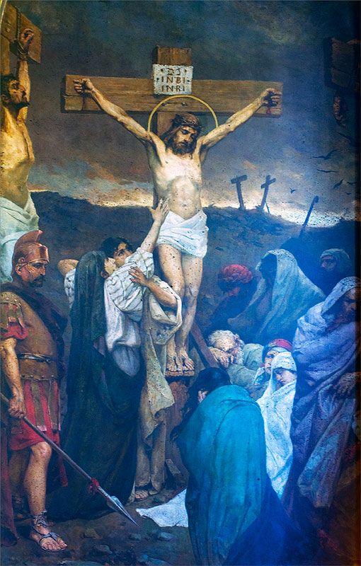 The Crucifixion of Jesus Christ - Wilhelm Kotarbinski