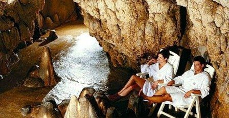 "Термальный СПА центр  ""Grotta Giusti"" в Монтекатини Терме"