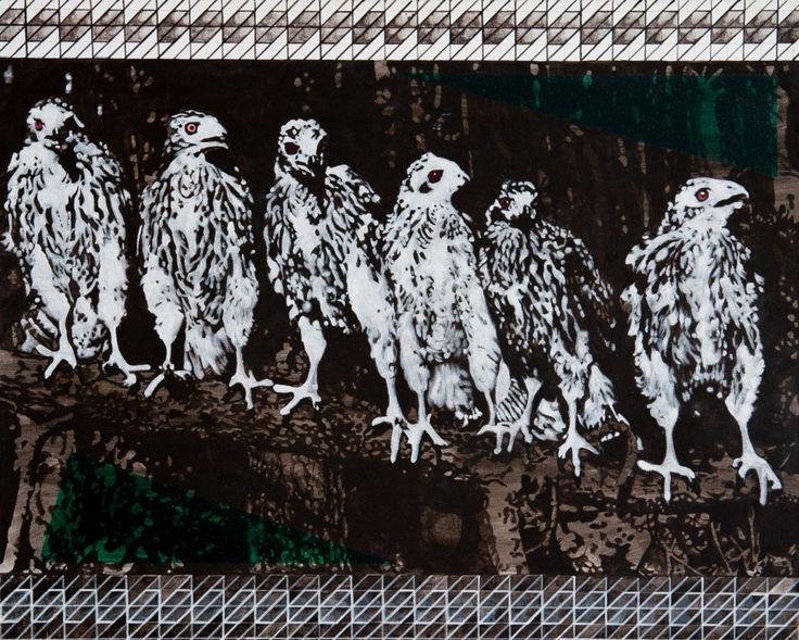 Painting // Malarstwo - Tkanina artystyczna // Embroidery