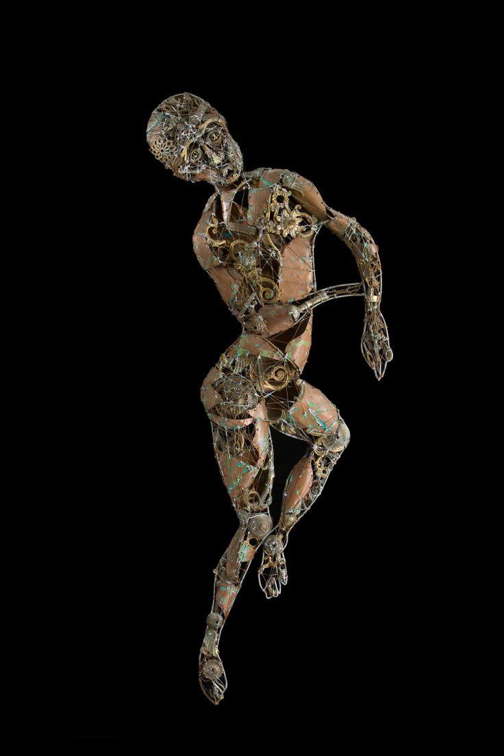 #Be - (1999) 175x80 - made with #brass #bronze #copper #art #metal #metalart #metalsculptures #contemporaryart