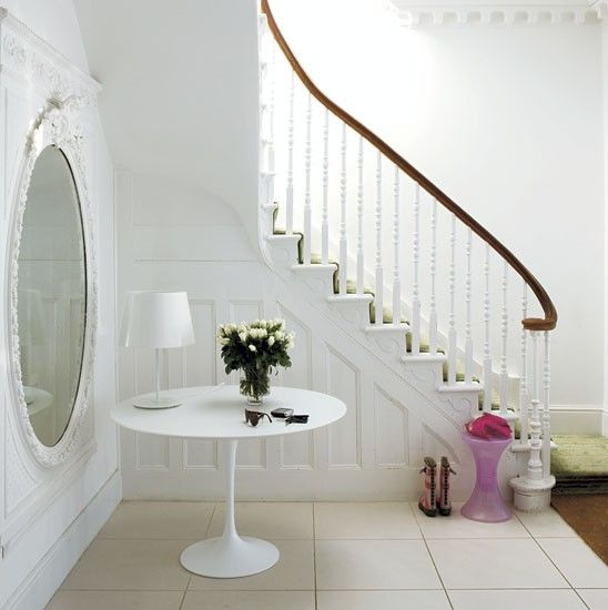 #interior design #home decor #staircase #entrance hall