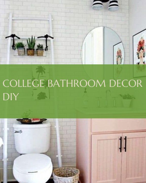college bathroom decor diy ~ college badezimmer de…