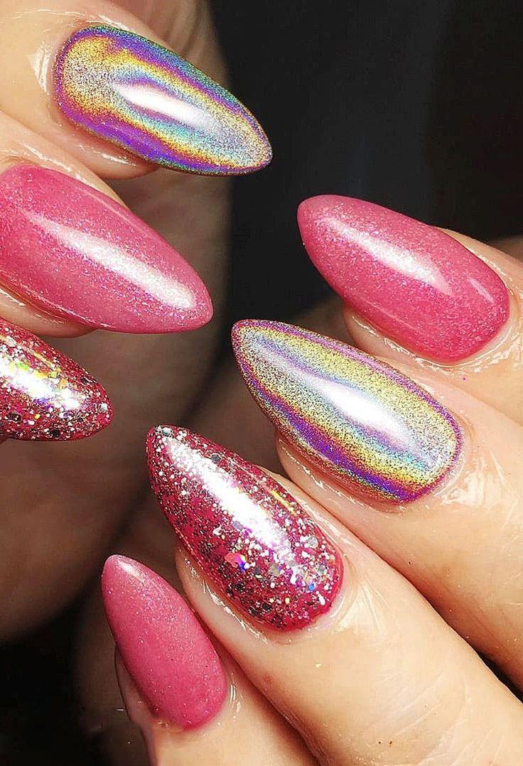 Bunte Gel Nägel Ideen für den Sommer geeignet für gepflegte und auffällige Damen. Seite 27   – Nails