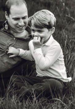 Prince George de Cambridge, 20 avril 2017, Photos parues dans le magazine britannique GQ en mai 2017