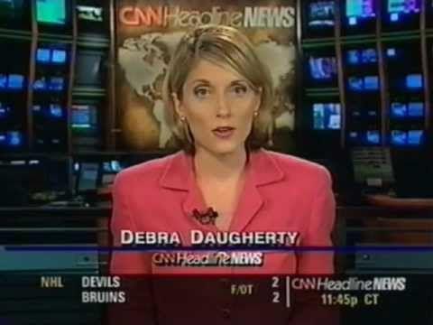 Debra Daugherty Anchors CNN Headline News