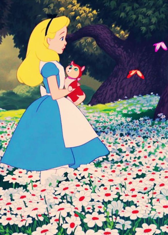 Alice and her cat