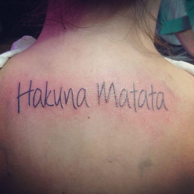 1000 id es sur le th me tatouage swahili sur pinterest tatouages m re fille tatouage au - Tatouage hakuna matata ...