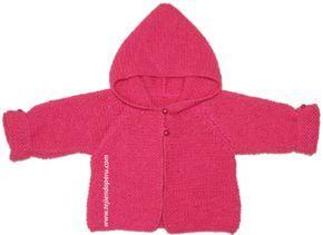 Saco con capucha para bebé (tutorial)        ESTE MODELO ES DE ESPERANZA ROSAS Y BIENE CON VIDEO .  Q U E N A