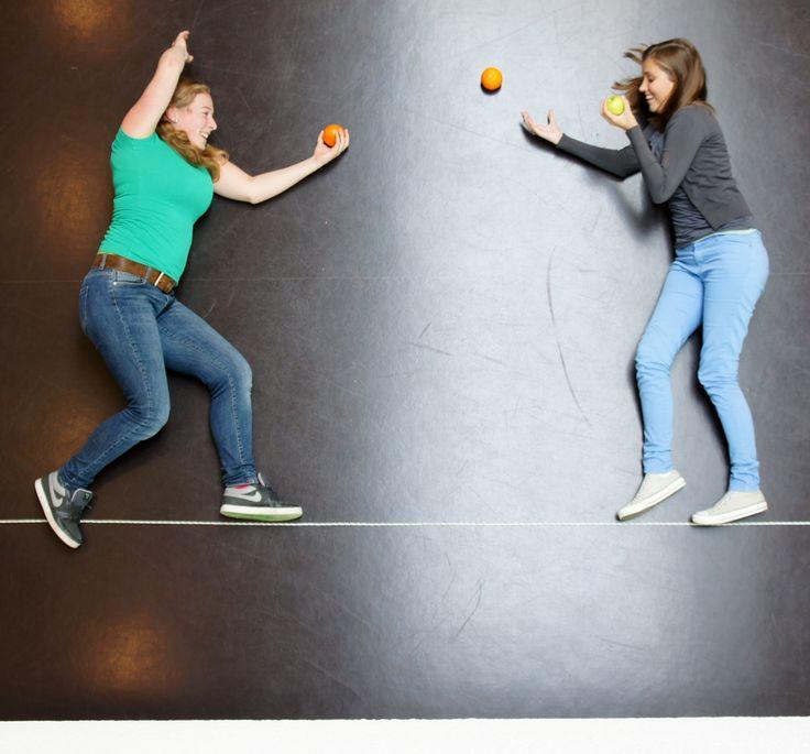 Foto-opdracht Kunst en Cultuur, thema Sport en Spel op basis van Jan von Holleben.