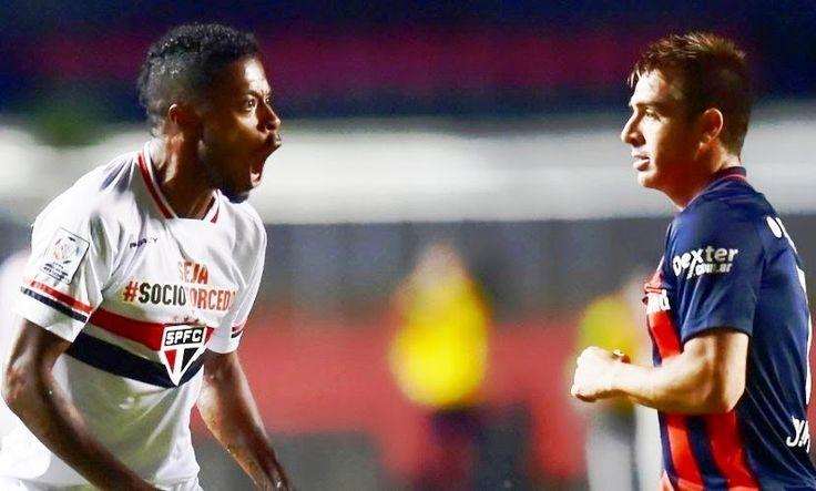 Blog Esportivo do Suíço:  Michel Bastos faz no fim, e São Paulo vence San Lorenzo