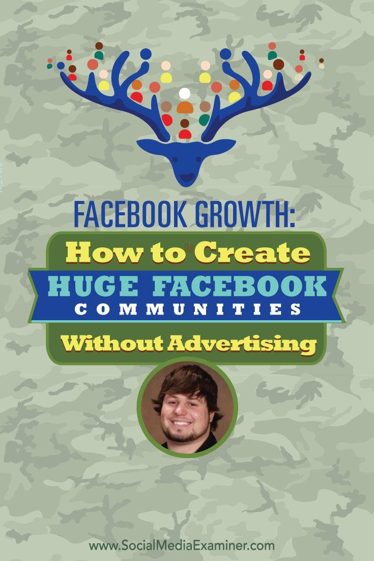 Facebook Growth: How to Create Huge Facebook Communities ...