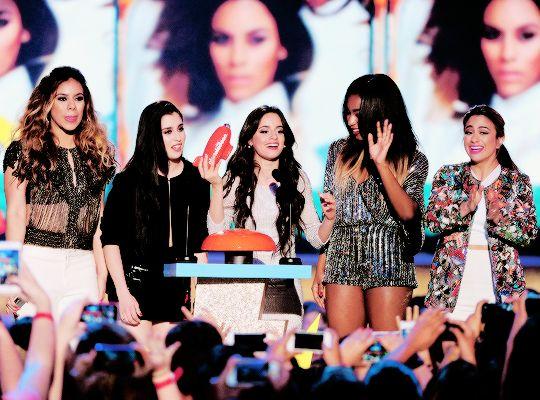 Fifth Harmony Nickelodeon Awards
