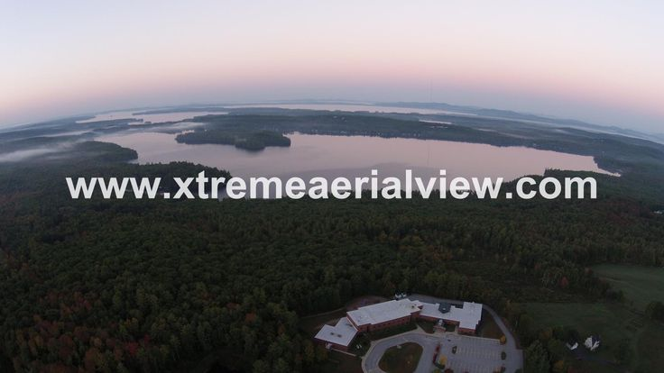 Panther Pond at sunrise Raymond  Maine