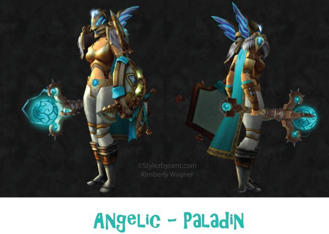 Angelic #paladin #transmog set for #worldofwarcraft! follow my blog for more awesome looking sets! stylezbycent.com #wow @World of Warcraft Pins