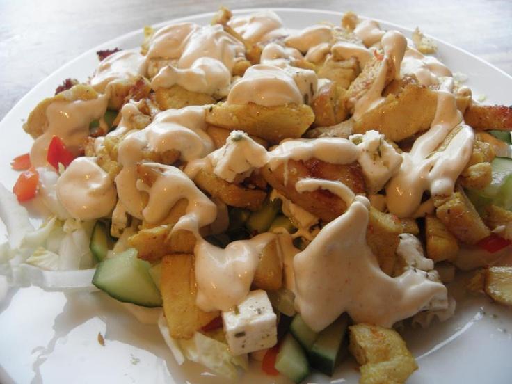 Lavkarbo kyllingkebab, den perfekte lørdagskosen! Dette må prøves:-)
