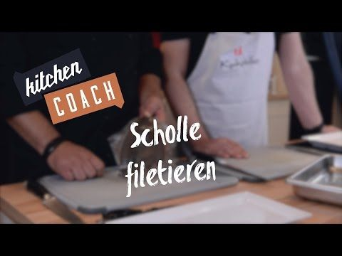 Scholle filetieren Kitchencoach - YouTube