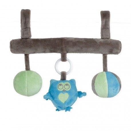 Chouette ! Une barre de jeux d'éveil Dragon Mignon pour bébé qui se fixe de partout !