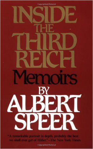Amazon.com: Inside the Third Reich (9780684829494): Albert Speer: Books