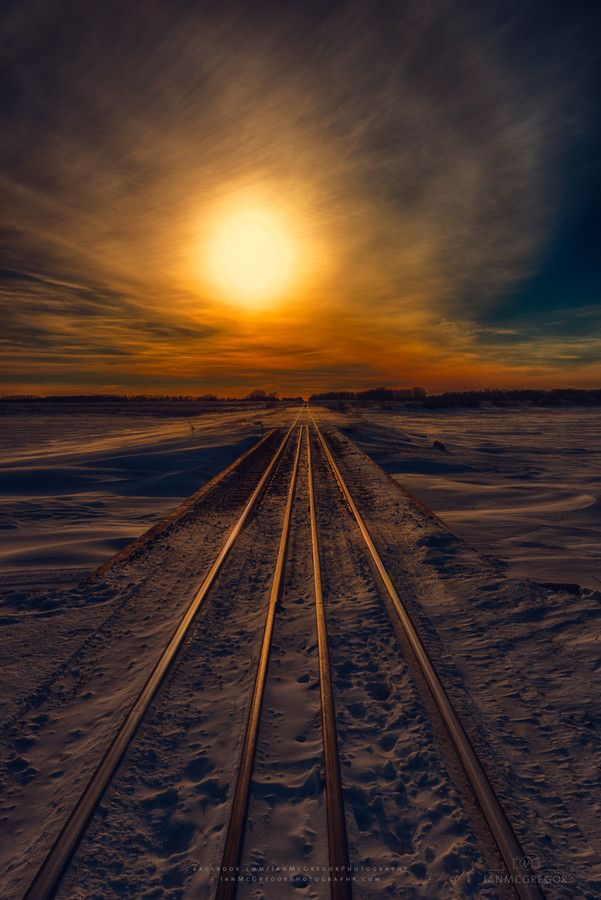Journey to Sunset, Saskatchewan, Canada