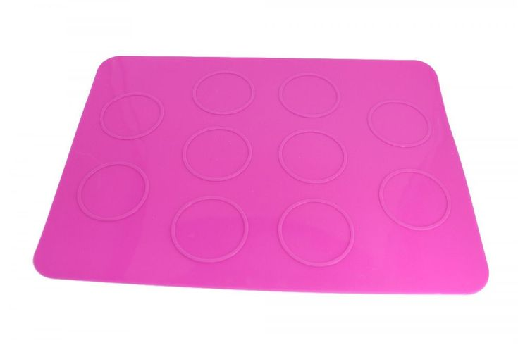 Silicone Baking Sheet Macaroon Mat DIY Chocolate Cookie Mould Decorating Tools #Unbranded