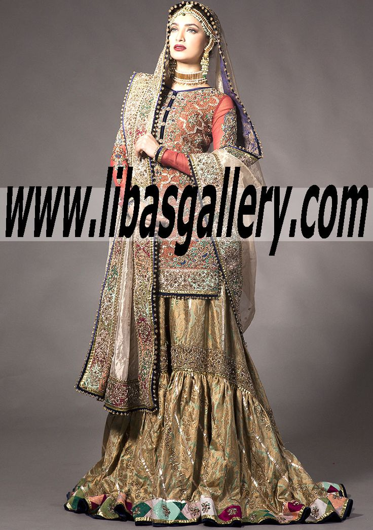 113 best pakistani designers wedding gharara bridal for Indian wedding dresses usa